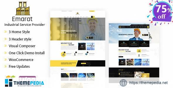 Emarat-Industry & Business WordPress Theme [Free download]