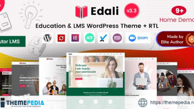 Edali – Elementor Online Courses & Coaching Education Theme [nulled]