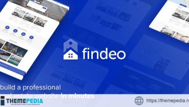 Findeo – Real Estate WordPress Theme [Free download]