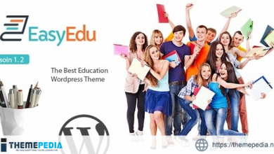 EasyEdu – Responsive Education WordPress Theme [Free download]