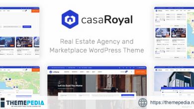 casaRoyal – Real Estate WordPress Theme [Free download]