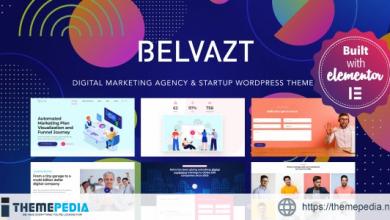 Belvazt – Digital Marketing Agency WordPress Theme [Free download]
