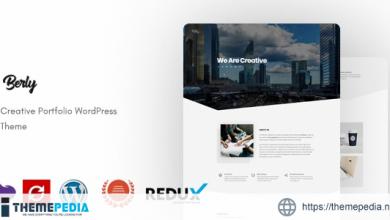 Berly – Portfolio WordPress Theme [Updated Version]
