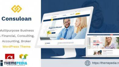 Consuloan – Multipurpose Consulting WordPress Theme [Free download]