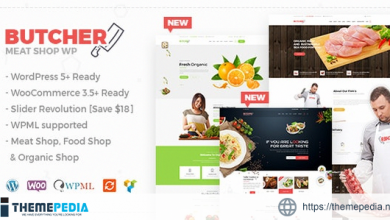 Butcher – Meat Shop WooCommerce WordPress Theme [Updated Version]