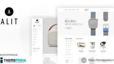 Alit – Minimalist Responsive Woocommerce WordPress Theme [Free download]