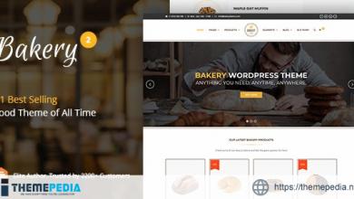 Bakery – WordPress Cake & Food Theme [Free download]