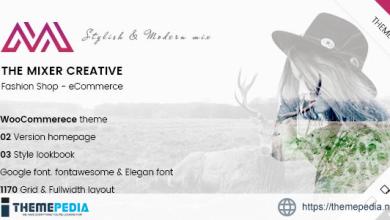ARW Mixer – Creative Shop WordPress Theme [Free download]