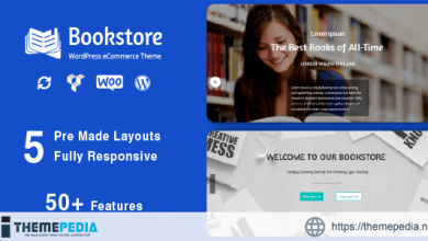 Book Store – Responsive WooCommerce Theme [Free download]