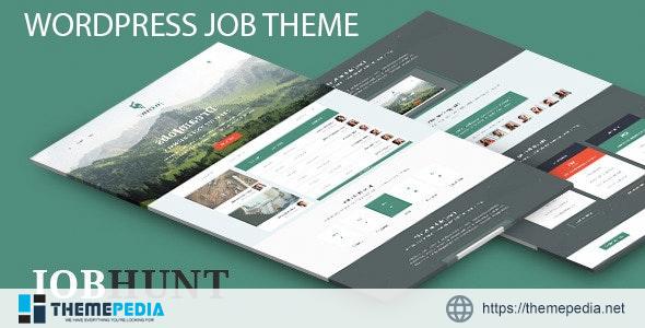 JobHunt WordPress Theme [Free download]