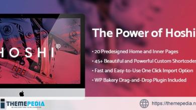Hoshi – Digital Agency Theme [Free download]
