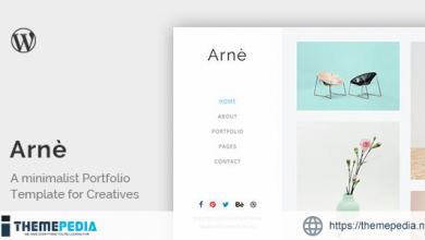 Arne – Minimal Creative Portfolio Theme [nulled]