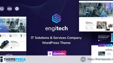 Engitech – IT Solutions & Services WordPress Theme [Updated Version]