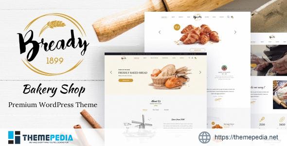 Bready – Cake BakeryWordPress Theme [Free download]