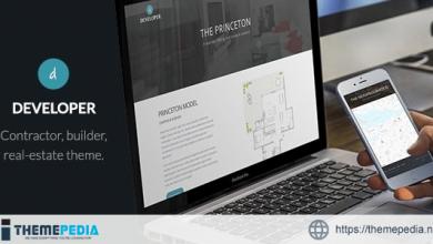 Developer – Builder, Contractor, Developer WP Theme [Free download]