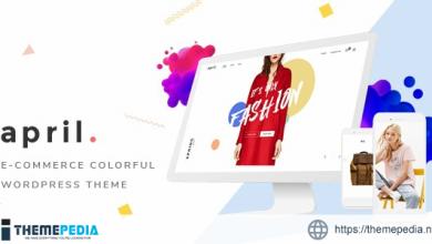 APRIL – Fashion WooCommerce WordPress Theme [Updated Version]