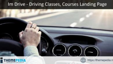 ImDrive – Driving School WordPress Theme [Free download]