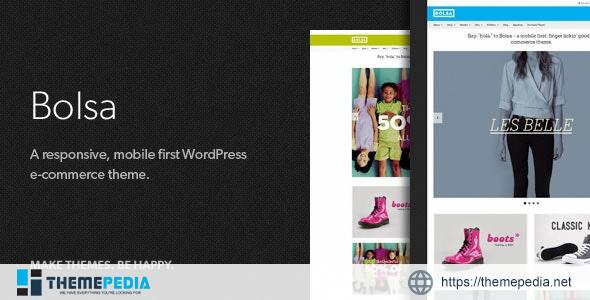 Bolsa – A Responsive WordPress E-commerce Theme [Free download]