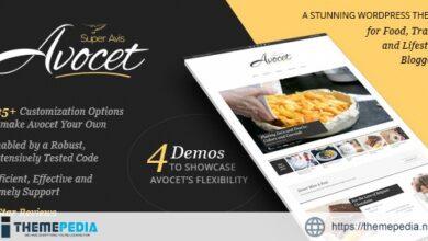 Avocet – Lifestyle & Fashion blog theme [Free download]