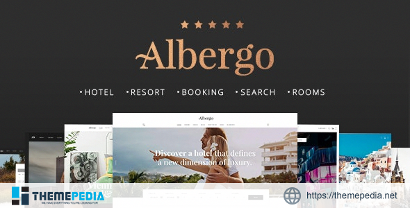 Albergo – Hotel and Accommodation Booking Theme [Latest Version]