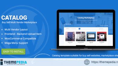 Catalog – Buy Sell – Marketplace Responsive WordPress Theme [Free download]