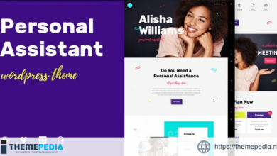 A.Williams – A Personal Assistant & Administrative Services WordPress Theme [Free download]