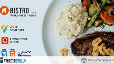 Bistro – Food & Restaurant WordPress [Latest Version]