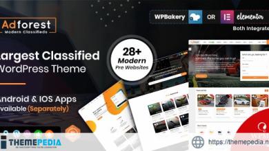 AdForest – Classified Ads WordPress Theme [Free download]