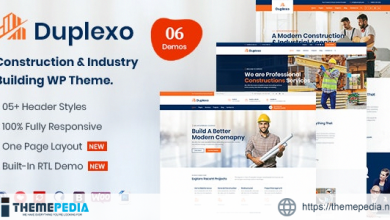 Duplexo – Construction Renovation WordPress Theme [Updated Version]