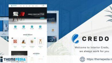 Credo – Handmade Furniture WooCommerce WordPress Theme [Free download]