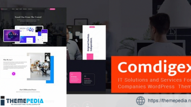 Comdigex – IT Solutions and Services Company WP Theme [Updated Version]