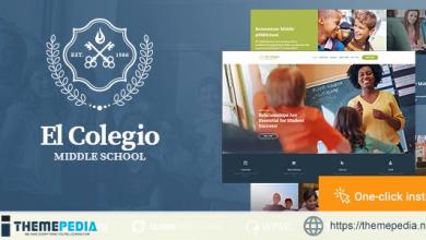 El Colegio – School & Education WP Theme with LMS [nulled]
