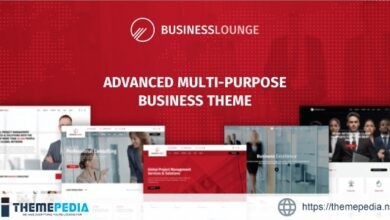 Business Lounge – Multi-Purpose Consulting & Finance Theme [Free download]