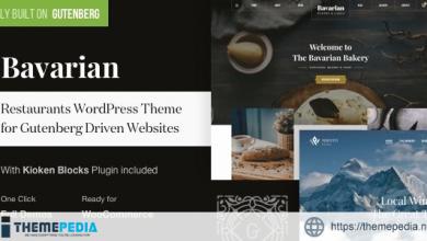Bavarian – WordPress Block Editor Theme for Restaurants [Free download]