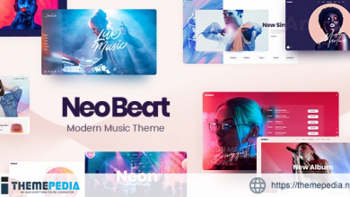 NeoBeat – Music WordPress Theme [Free download]