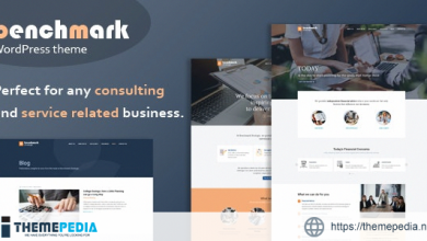 Benchmark – Financial Advisory & Consulting Theme [Free download]