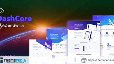 DashCore – Startup & Software WordPress Theme [Free download]
