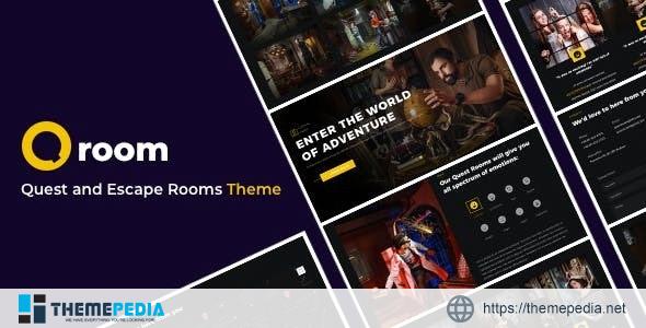 Qroom -Escape Room WordPress [Free download]