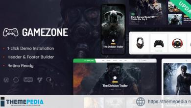 Gamezone – Video Gaming Blog & Esports Store WordPress Theme [Latest Version]