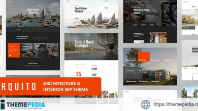 Arquito – 3D Architecture & Interior WordPress Theme [Free download]