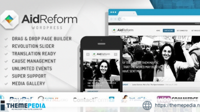 Aid Reform- NGO Donation and Charity Theme [Free download]