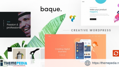 Baque – Multipurpose Onepage Creative WP Theme [nulled]