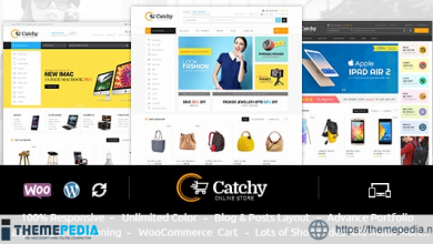 Catchy – Multipurpose WooCommerce Theme [Updated Version]