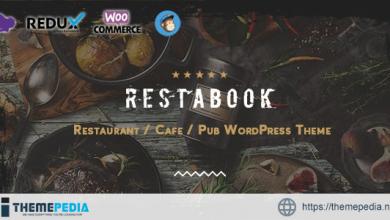Restabook – Restaurant – Cafe – Pub WordPress Theme [Free download]