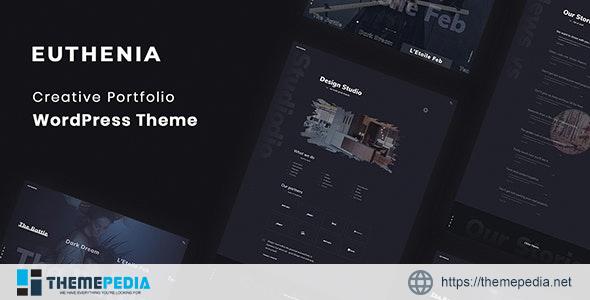 Euthenia – Creative Portfolio WordPress Theme [Free download]