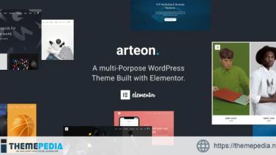 Arteon — Multi-Purpose WordPress Theme [Free download]