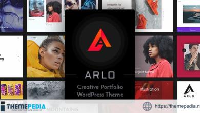 Arlo – Portfolio WordPress Theme [Free download]
