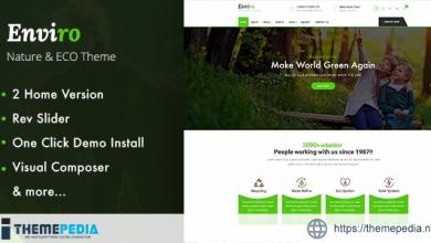 Enviro – Environment WordPress Theme [Latest Version]