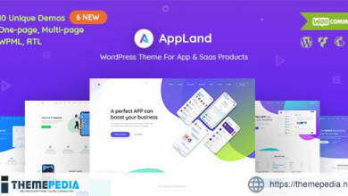 AppLand – WordPress Theme For App & Saas Products [nulled]