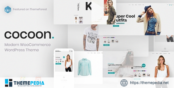 Cocoon – Modern WooCommerce WordPress Theme [nulled]